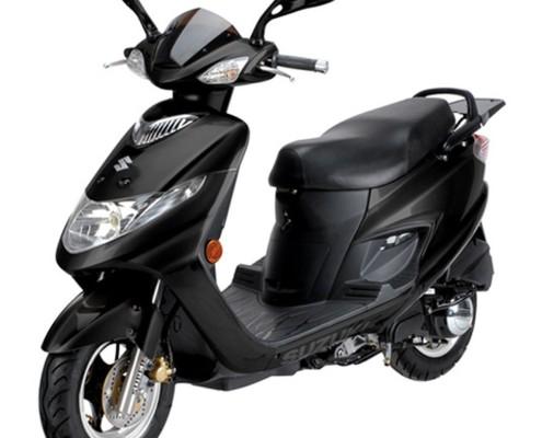 Suzuki AN 125 Negra