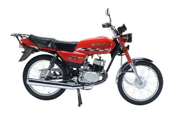 motos en panama - suzuki ax 100