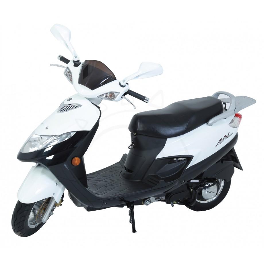 moto suzuki an 125 moto caribe. Black Bedroom Furniture Sets. Home Design Ideas