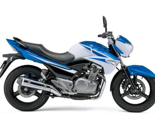 Moto GW250 - Azul/Blanco