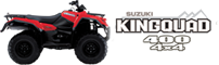 four wheel panama kingquad 400