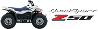 four wheel panama - Suzuki QuadSport Z50