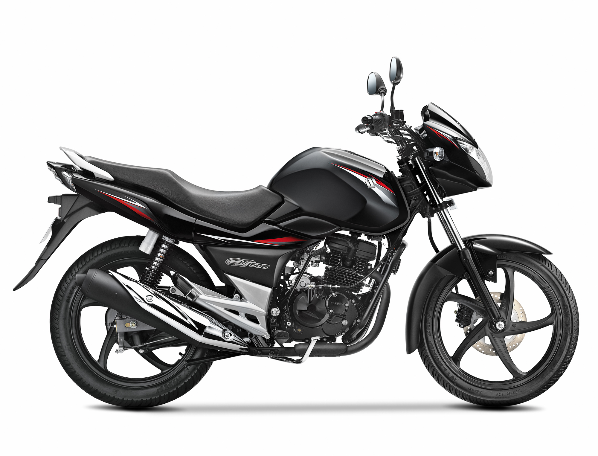Moto Suzuki Negro GS150R