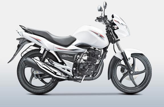 Moto Suzuki Blanca GS150R