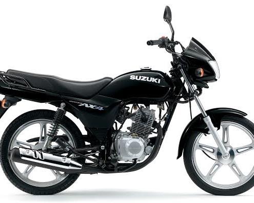 motos en panama - suzuki ax4 deluxe