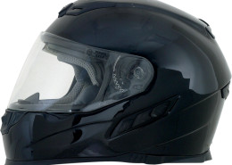 cascos para motos en panama - AFX FX120 NEGRO DOBLE VISOR