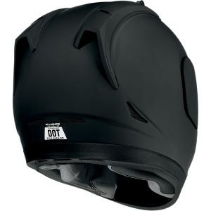 cascos para motos en panama - ICON ALIANCE DARK BLACK