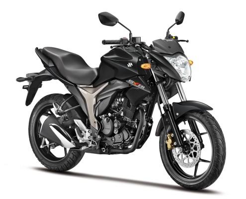 Suzuki Gixxer en Negro