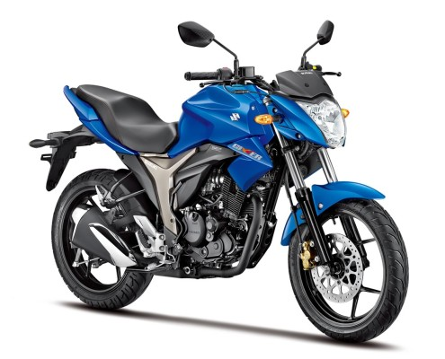 Suzuki Gixxer en Azul