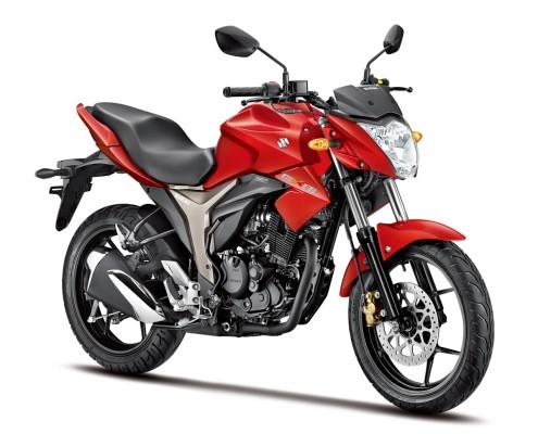 Suzuki Gixxer - Rojo